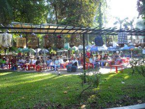The Bird Cafe, Tao Dan park