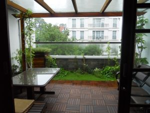Sheltered balcony, Phung Khac Khoan St. HCMC
