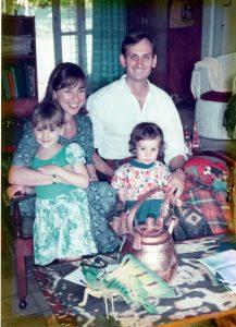 All together in Salatiga, Indonesia 1994